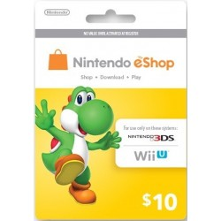 Nintendo e-Shop Card (US)
